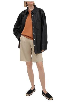 Женские текстильные эспадрильи MICHAEL MICHAEL KORS черного цвета, арт. 40S1LNFP5D | Фото 2