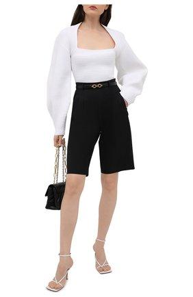 Женский пуловер ALEXANDER WANG белого цвета, арт. 1KC2211005 | Фото 2