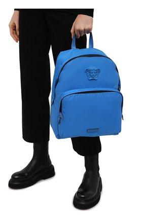 Женский рюкзак medusa VERSACE синего цвета, арт. DFZ8504/DNY8ME | Фото 2