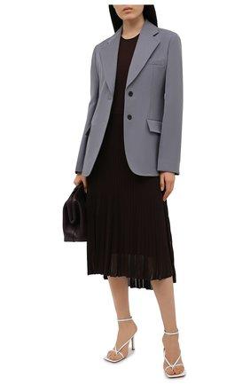 Женское платье из вискозы RALPH LAUREN коричневого цвета, арт. 290840681 | Фото 2 (Материал внешний: Вискоза; Длина Ж (юбки, платья, шорты): Миди; Случай: Повседневный; Материал подклада: Вискоза; Женское Кросс-КТ: Платье-одежда; Рукава: Без рукавов; Стили: Кэжуэл)