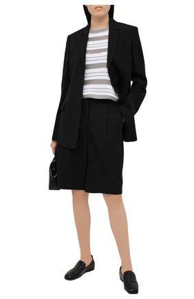 Женский хлопковый пуловер D.EXTERIOR серого цвета, арт. 52318 | Фото 2