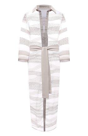 Женское платье D.EXTERIOR бежевого цвета, арт. 52717   Фото 1