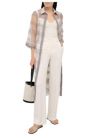 Женское платье D.EXTERIOR бежевого цвета, арт. 52717   Фото 2