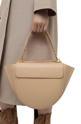 Женская сумка hortensia medium WANDLER бежевого цвета, арт. H0RTENSIA BAG MEDIUM   Фото 2