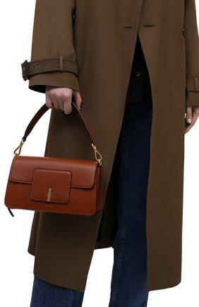 Женская сумка georgia WANDLER коричневого цвета, арт. GE0RGIA BAG   Фото 2