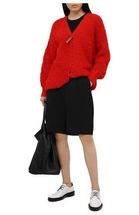 Женский хлопковый кардиган GIVENCHY красного цвета, арт. BW90CL4Z9G | Фото 2