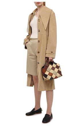 Женское замшевое пальто JW ANDERSON бежевого цвета, арт. LC0003 PG0530 | Фото 2