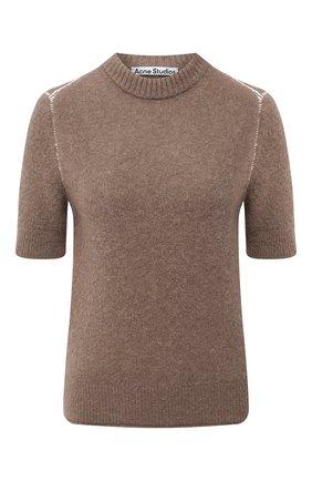 Женский пуловер ACNE STUDIOS коричневого цвета, арт. A60270 | Фото 1