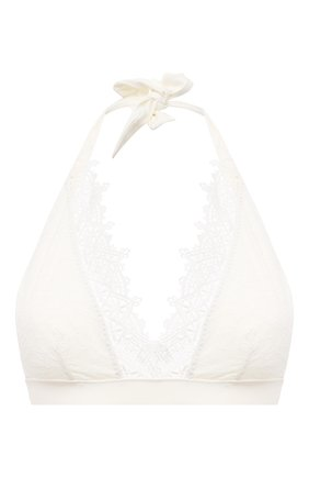 Женский треугольный бра ERMANNO SCERVINO белого цвета, арт. D384Y302BWM | Фото 1
