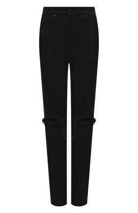 Женские джинсы DENIM X ALEXANDER WANG черного цвета, арт. 4DC2214929 | Фото 1