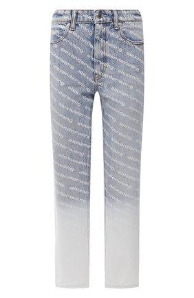 Женские джинсы DENIM X ALEXANDER WANG голубого цвета, арт. 4DC2214906   Фото 1