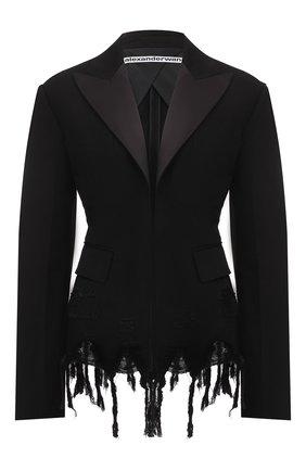 Женский жакет ALEXANDER WANG черного цвета, арт. 1WC2212269 | Фото 1