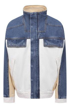 Женская джинсовая куртка DENIM X ALEXANDER WANG разноцветного цвета, арт. 4DC2212845   Фото 1