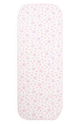 Детского хлопковая пеленка KISSY KISSY розового цвета, арт. KG3059200 | Фото 1
