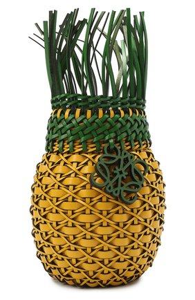 Женская сумка fruit loewe x paula's ibiza LOEWE желтого цвета, арт. A879P62X01 | Фото 1