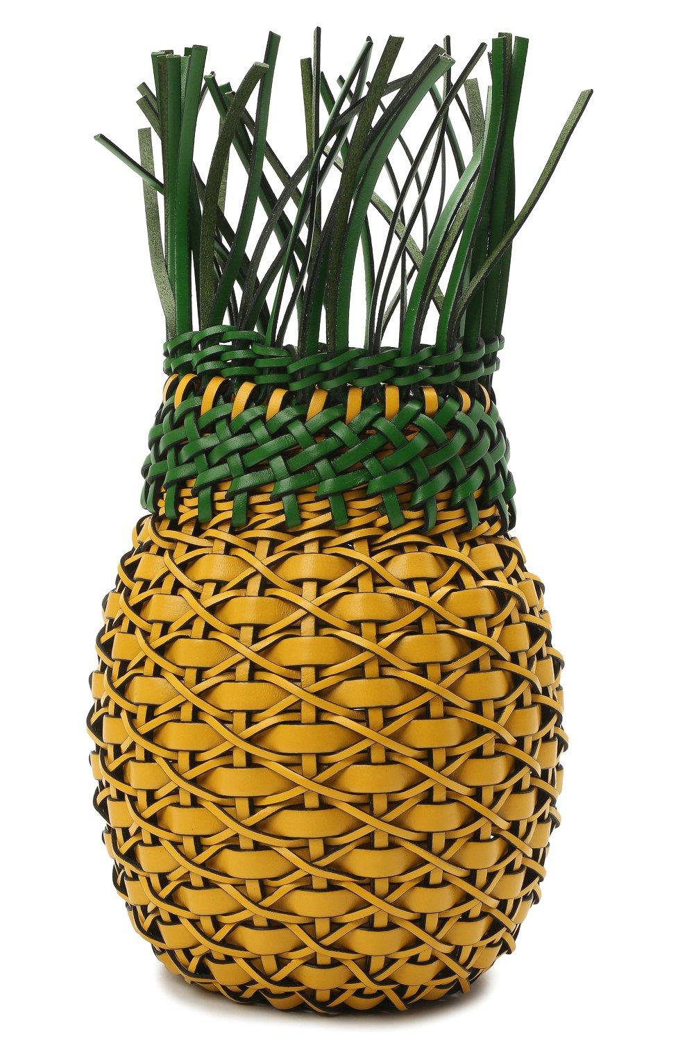 Женская сумка fruit loewe x paula's ibiza LOEWE желтого цвета, арт. A879P62X01 | Фото 3