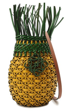 Женская сумка fruit loewe x paula's ibiza LOEWE желтого цвета, арт. A879P62X01 | Фото 5