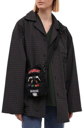 Женский рюкзак oversized BALENCIAGA черного цвета, арт. 656328/2JMXX | Фото 2