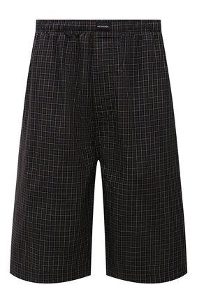 Мужские хлопковые шорты BALENCIAGA хаки цвета, арт. 658413/TKM34 | Фото 1