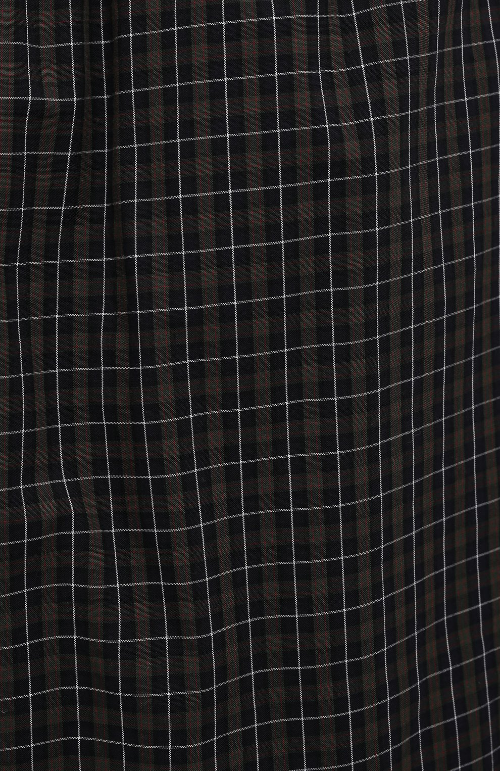 Мужские хлопковые шорты BALENCIAGA хаки цвета, арт. 658413/TKM34 | Фото 5 (Мужское Кросс-КТ: Шорты-одежда; Длина Шорты М: Ниже колена; Принт: С принтом; Материал внешний: Хлопок; Стили: Минимализм)