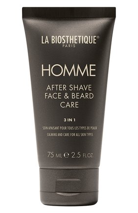 Мужское ревитализирующая эмульсия после бритья для ухода за кожей лица и бородой LA BIOSTHETIQUE бесцветного цвета, арт. 3999 | Фото 1