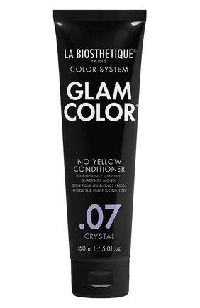 Кондиционер для окрашенных волос no yellow .07 crystal LA BIOSTHETIQUE бесцветного цвета, арт. 120136 | Фото 1