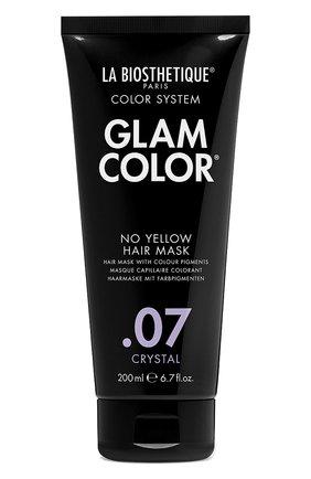 Тонирующая маска для волос no yellow .07 crystal LA BIOSTHETIQUE бесцветного цвета, арт. 38249 | Фото 1