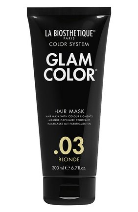 Тонирующая маска для волос .03 blonde LA BIOSTHETIQUE бесцветного цвета, арт. 38238 | Фото 1