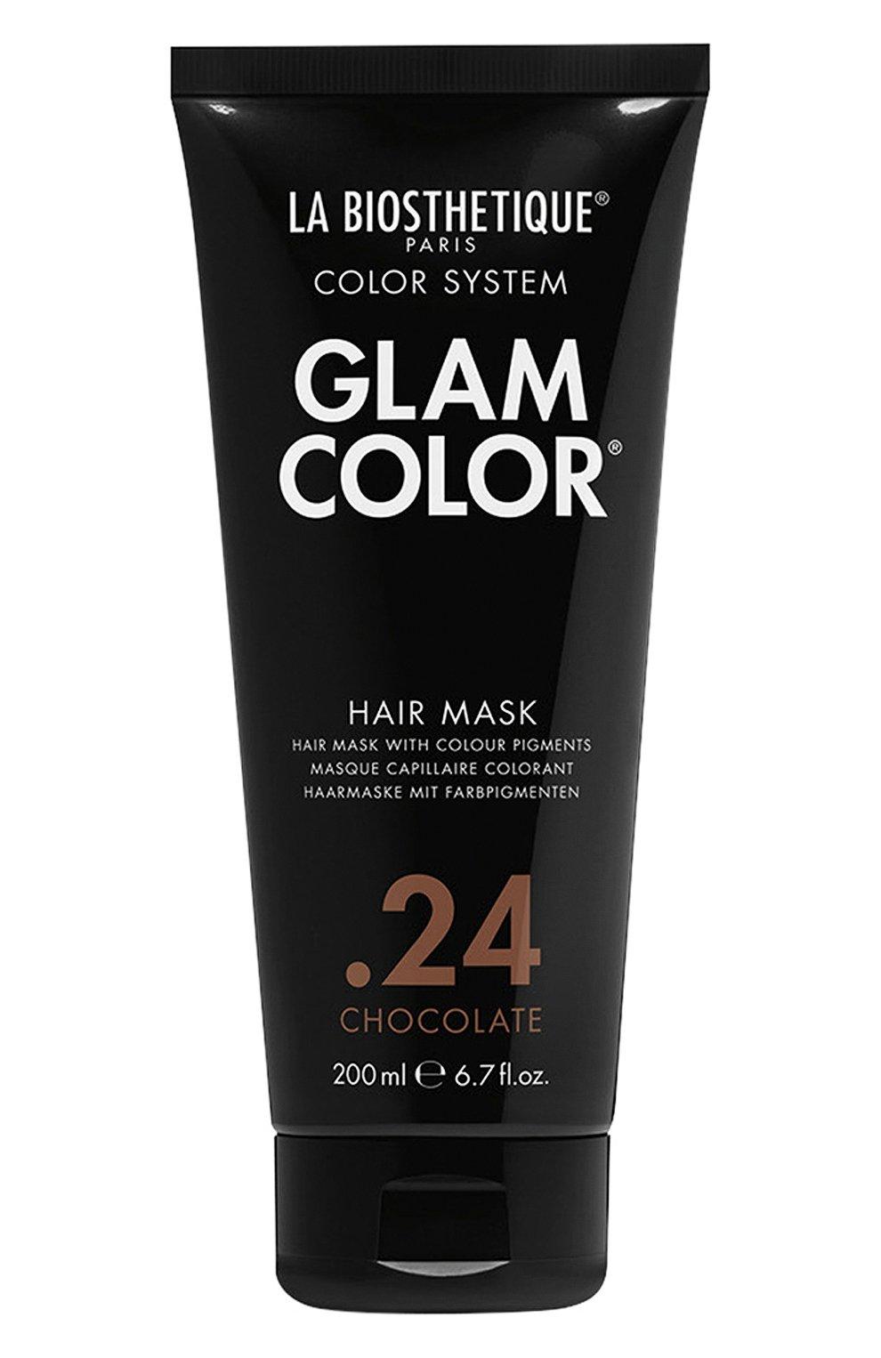 Тонирующая маска для волос .24 chocolate LA BIOSTHETIQUE бесцветного цвета, арт. 38271   Фото 1