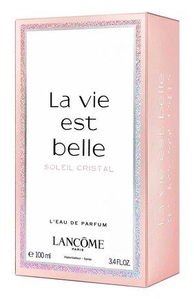 Парфюмерная вода la vie est belle soleil cristal LANCOME бесцветного цвета, арт. 3614273357197 | Фото 2