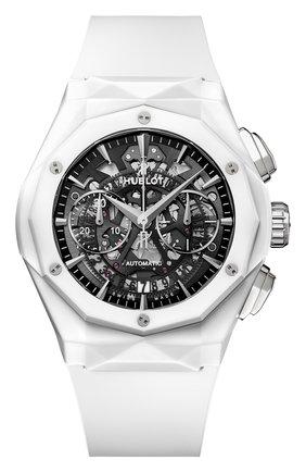 Мужские часы aerofusion chronograph orlinski white ceramic HUBLOT черного цвета, арт. 525.HI.0170.RW.ORL21  | Фото 1