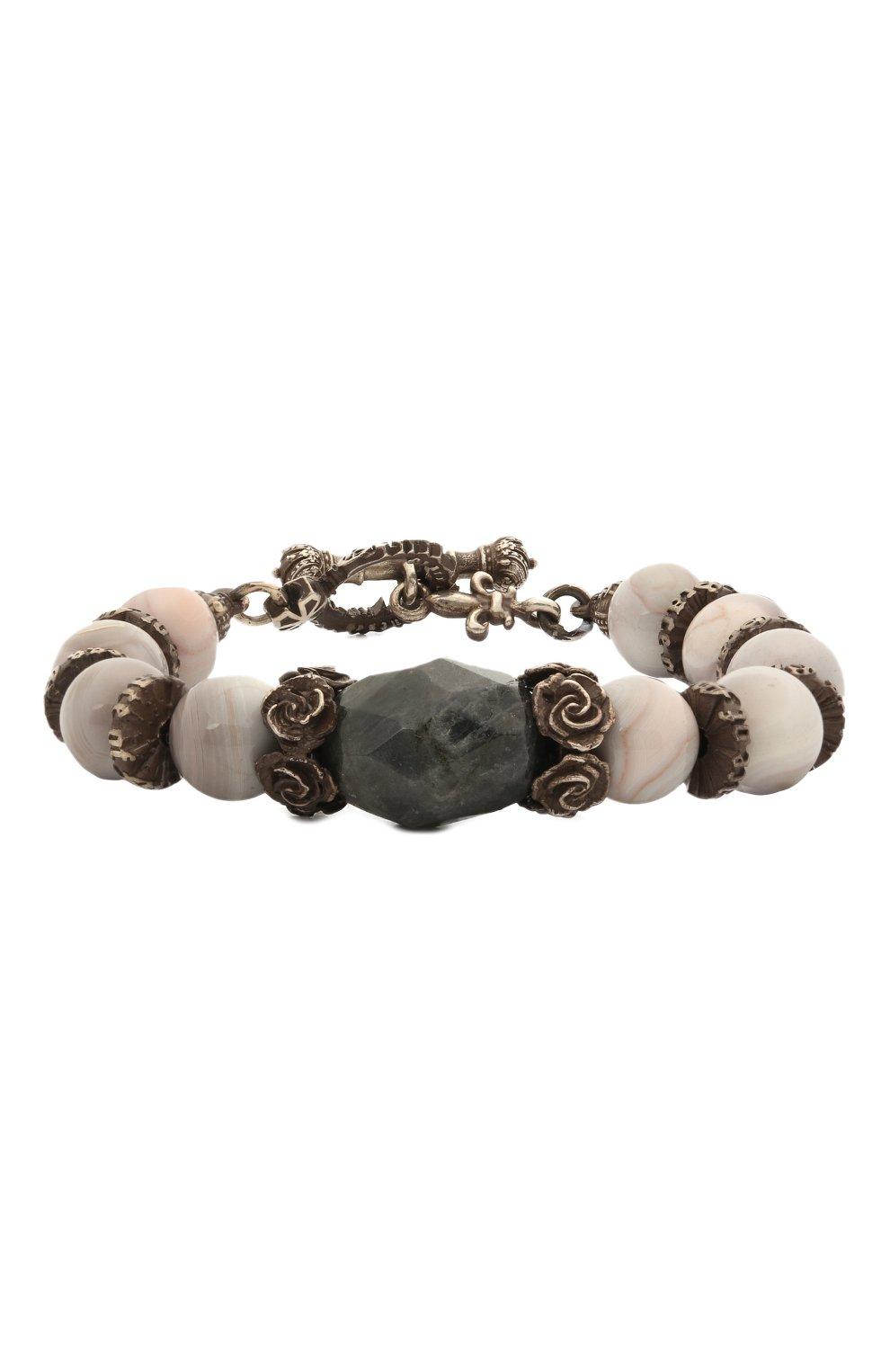 Женский браслет GL JEWELRY серебряного цвета, арт. PB106 | Фото 1 (Материал: Серебро)