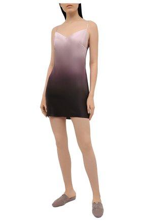 Женская шелковая сорочка MARJOLAINE разноцветного цвета, арт. 3MIL0101 | Фото 2