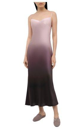 Женская шелковая сорочка MARJOLAINE разноцветного цвета, арт. 3MIL3001 | Фото 2