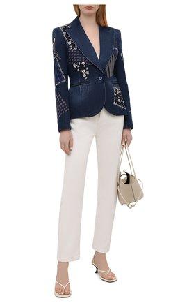 Женский джинсовый жакет RALPH LAUREN синего цвета, арт. 290845850 | Фото 2