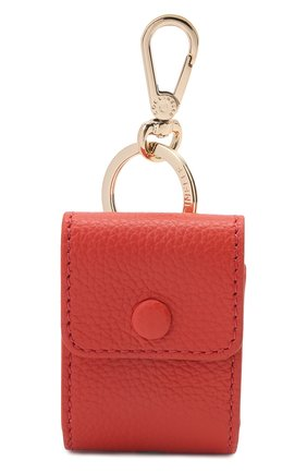 Кожаный чехол для airpods COCCINELLE красного цвета, арт. E2 HZ4 41 N2 01 | Фото 1