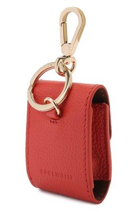 Кожаный чехол для airpods COCCINELLE красного цвета, арт. E2 HZ4 41 N2 01 | Фото 2