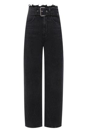 Женские джинсы DENIM X ALEXANDER WANG серого цвета, арт. 4DC1214871   Фото 1