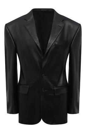 Женский кожаный жакет R13 черного цвета, арт. R13W8081-STA | Фото 1