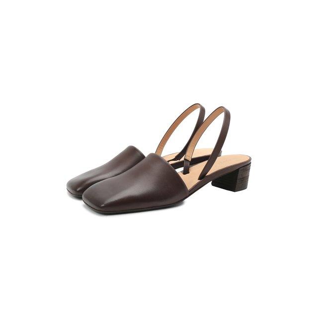 Кожаные туфли Spatolina  Marsell