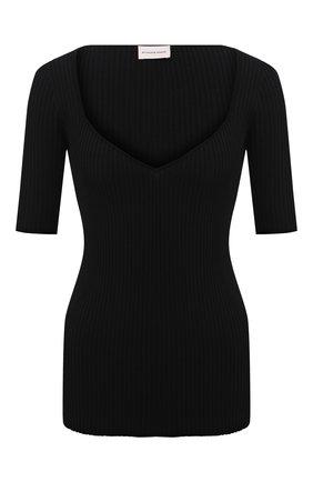 Женский пуловер BY MALENE BIRGER черного цвета, арт. Q70017001/FEDDEA | Фото 1