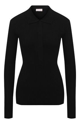 Женский пуловер BY MALENE BIRGER черного цвета, арт. Q70017005/FLALIA | Фото 1
