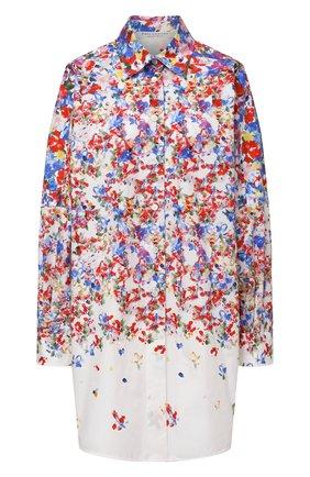 Женская хлопковая рубашка PHILOSOPHY DI LORENZO SERAFINI разноцветного цвета, арт. A0213/2143 | Фото 1