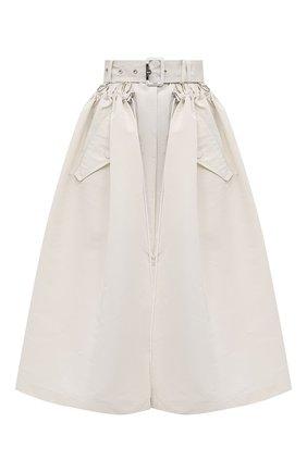 Женская юбка ALEXANDER MCQUEEN кремвого цвета, арт. 657001/QEACM | Фото 1