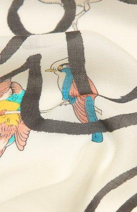 Женский платок loewe x paula's ibiza LOEWE белого цвета, арт. F000255X26 | Фото 2