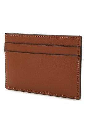 Женский кожаный футляр для кредитных карт loewe x paula's ibiza LOEWE коричневого цвета, арт. C643322X02   Фото 2