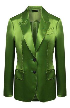 Женский жакет из вискозы TOM FORD зеленого цвета, арт. GI2808-FAX828 | Фото 1