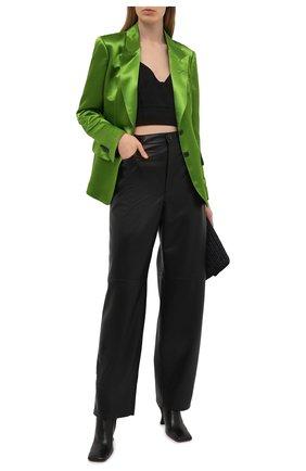Женский жакет из вискозы TOM FORD зеленого цвета, арт. GI2808-FAX828 | Фото 2