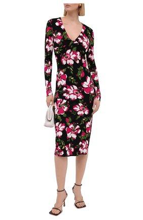 Женское платье из вискозы TOM FORD разноцветного цвета, арт. ABJ562-FAP112 | Фото 2