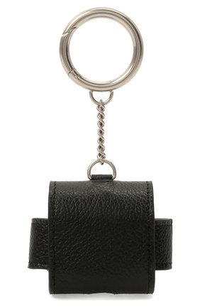 Кожаный чехол для airpods pro BALENCIAGA черного цвета, арт. 655679/1IZI3 | Фото 2